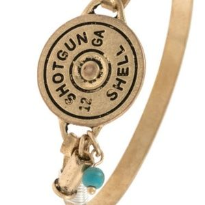 Jewelry - Shotgun Shell etched bangle bracelet